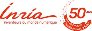 Inria 50 year logo