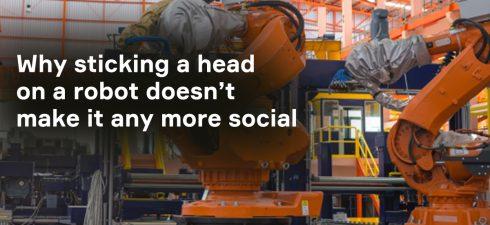 no social robot blog image