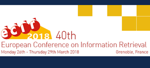 ECIR 2018 conference image