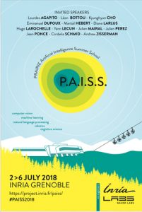 PAISS information poster image