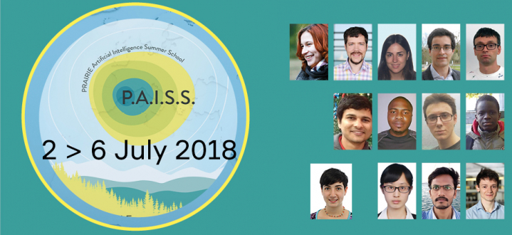 Information on PAISS with photos of students invited