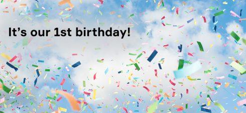 NLE first birthday blog image