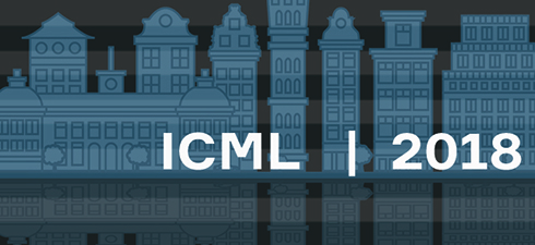 ICML 2018 a machine learning conference that's reinforcing itself illustrating image