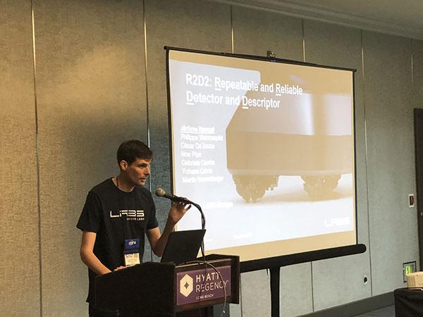 Jerome Presenting R2D2 CVPR photoweb