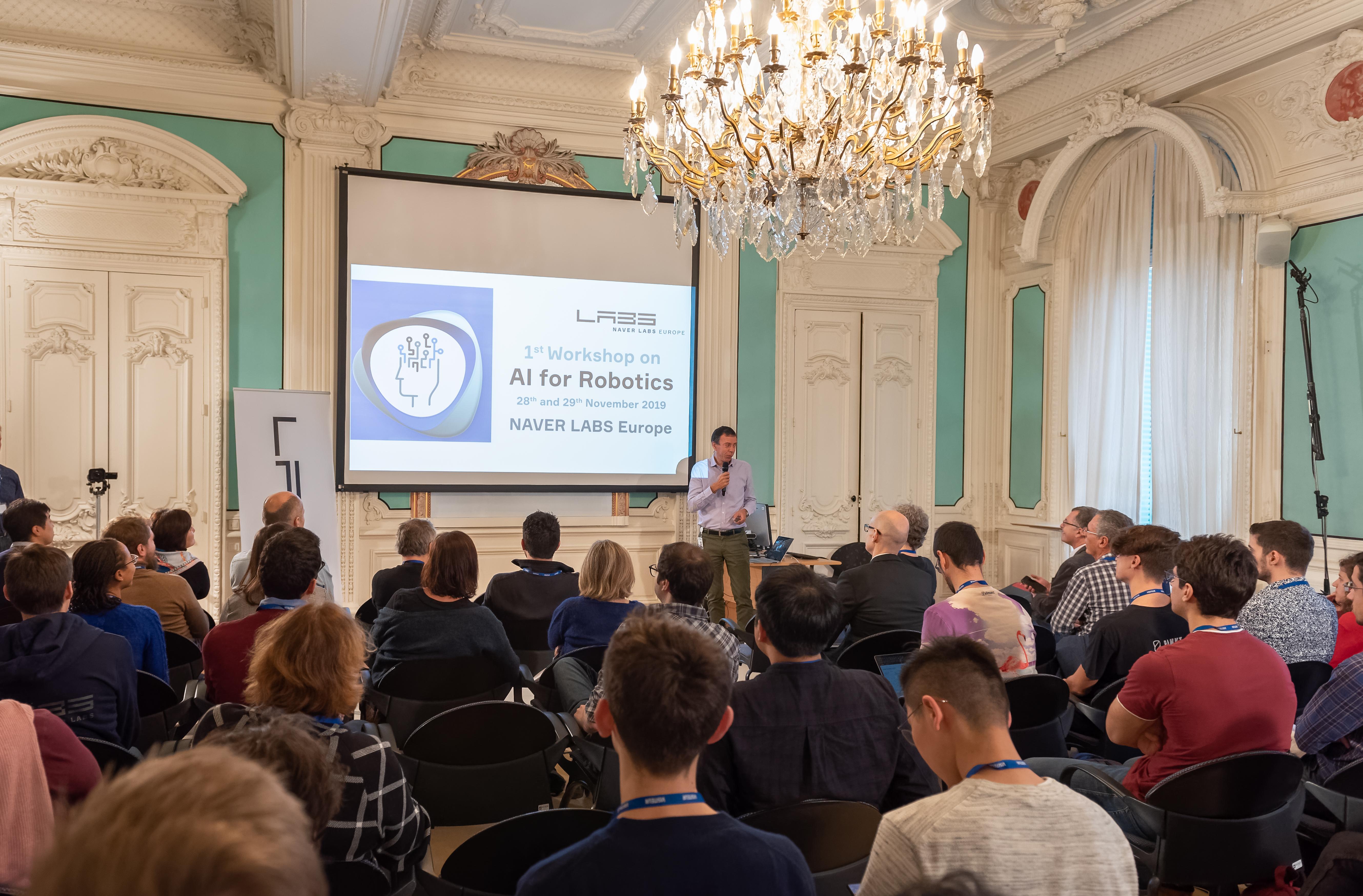 Michel Gastaldo AI for robotics workshop