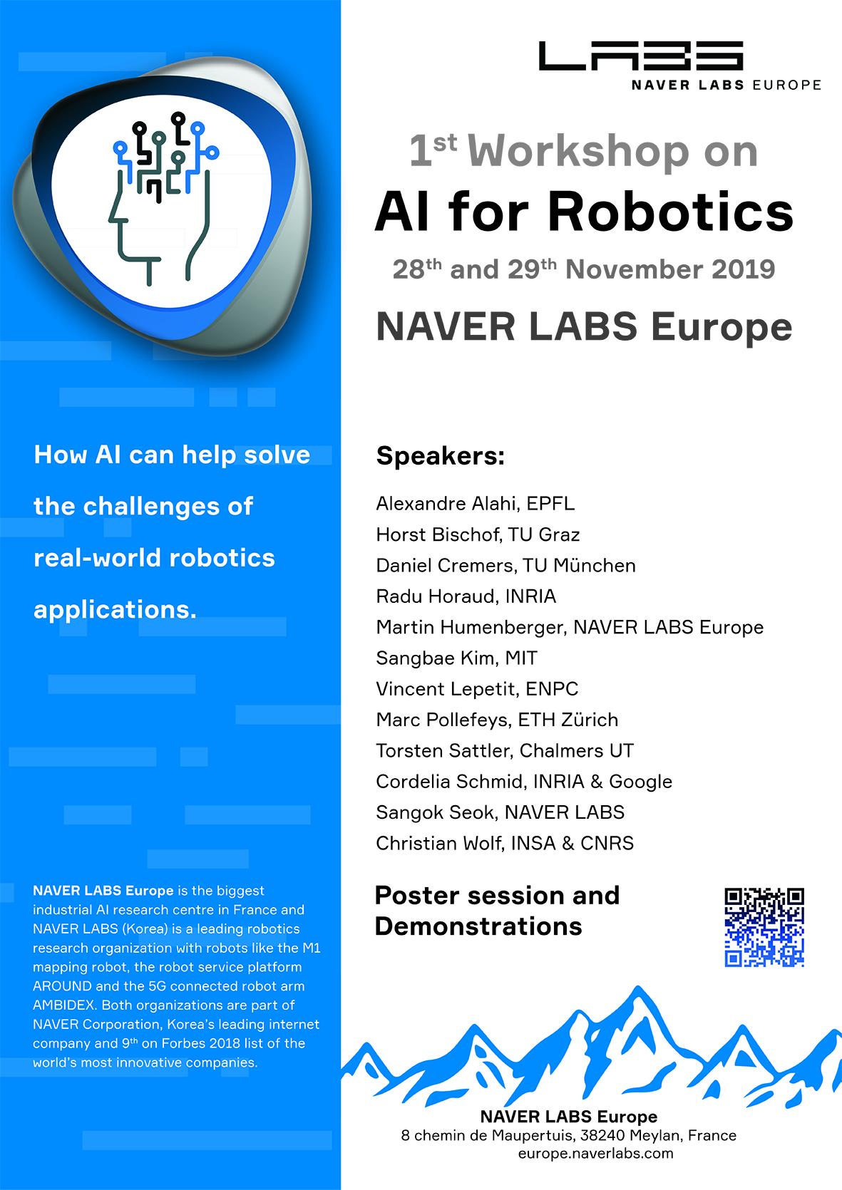 workshop AI for Robotics